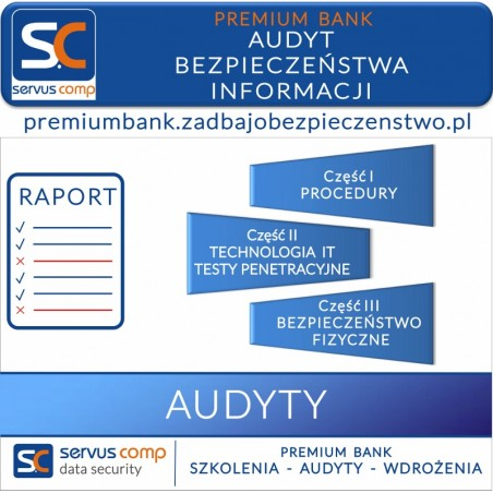AUDYT BEZPIECZEŃSTWA INFORMACJI W BANKU